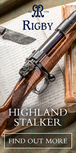 Vintage Gun Journal category advertiser: Rigby Highland Stalker