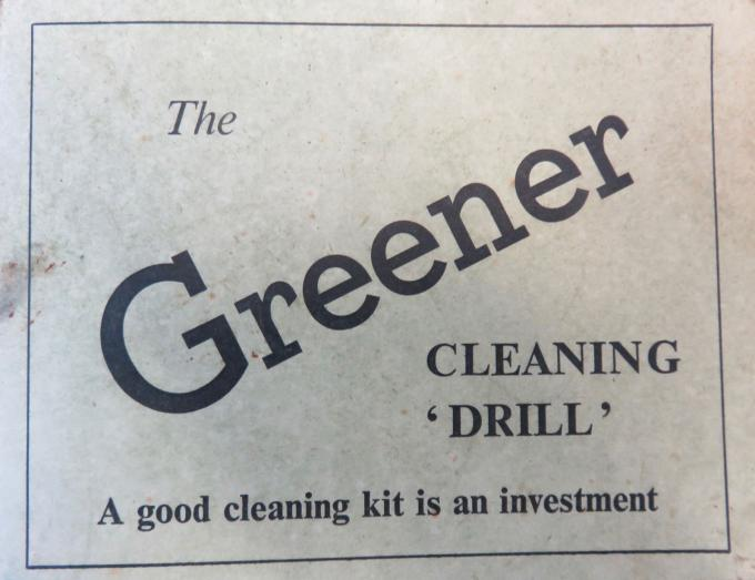 Greener Cleaning Instructions
