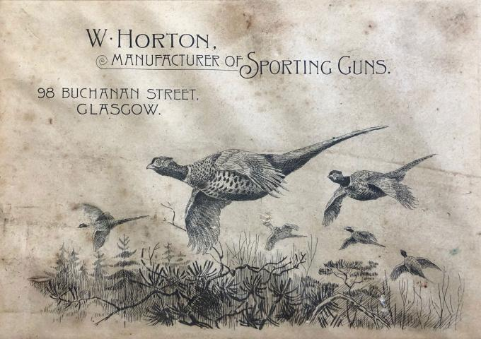 Gun Case Label: Horton
