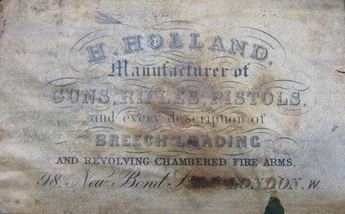H. Holland Trade Label