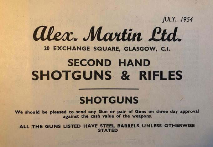 Sixty years of gun investments
