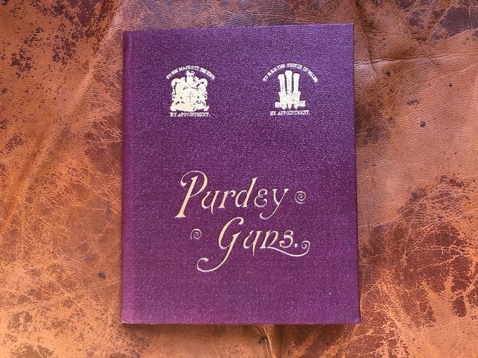 Inside your Purdey. Part 1.
