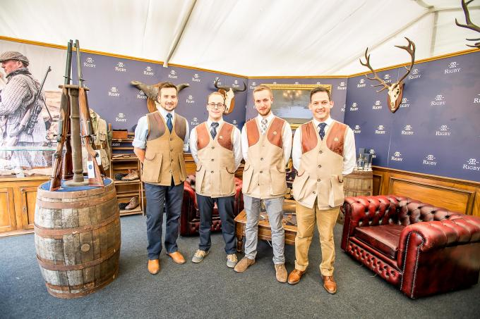 Rigby's Biggest Ever Game Fair Stand