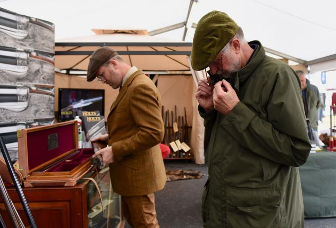 Buying at the Game Fair