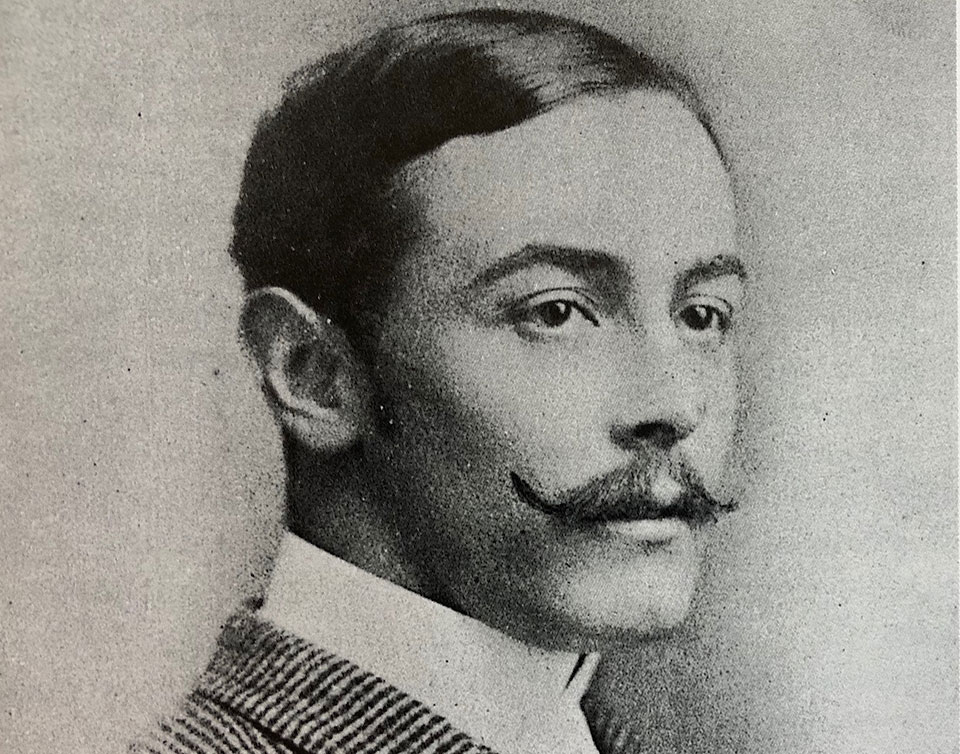 Athol Purdey as a young man.