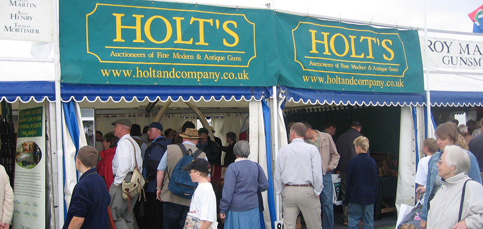 The Game Fair is postponed to September this year. It is always a reminder to people to consign guns for auction and a good place to collect stock.