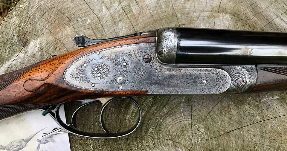 A classic early 20th century Purdey sidelock ejector,  6 3/4 lbs, with 28
