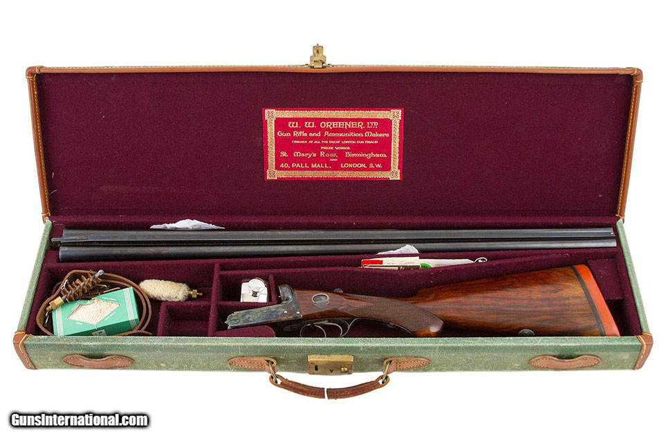 A cased Blue Rock recently sold by Steve Barnett in the USA, through Guns International..