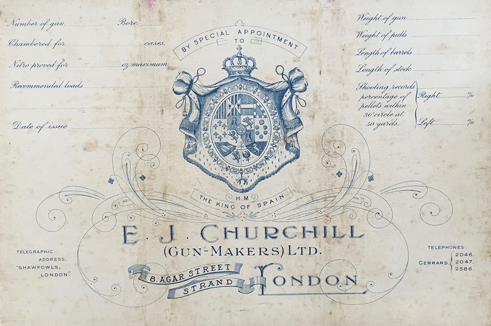 Churchill started the 25