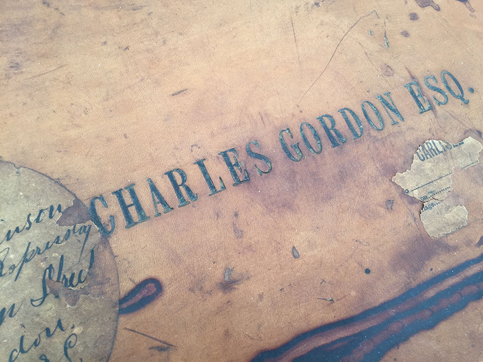 A famous name on a gun case makes all the difference. Charles Gordon was an eccentric collector who invariably ordered the finest cases and accessories for his guns.