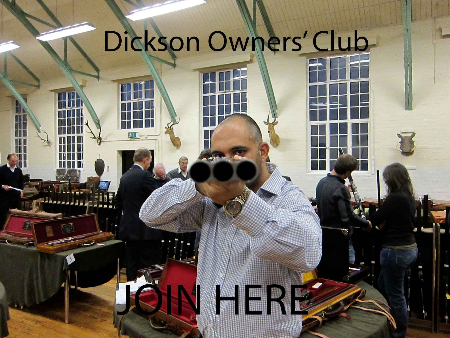 Join the Club today. It is free and easy to do - just go to the link and enter your Dickson's serial number.