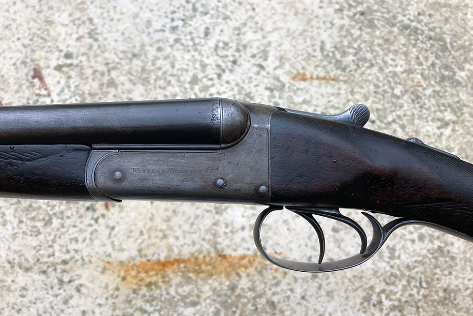 A Fauneta 20-bore shot & ball gun.