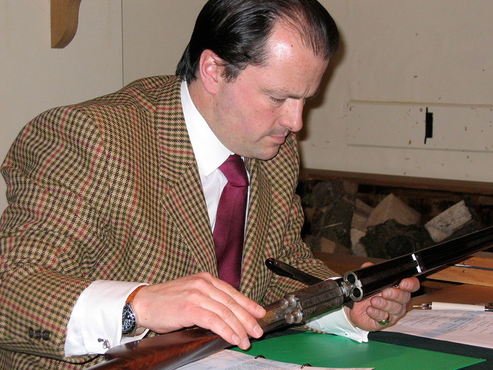 Nick Holt in 2005, when Holt's were on the rise and their London auctions a must-attend event.