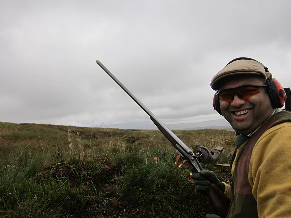 Hammer guns on the moor bring a smile to the face.