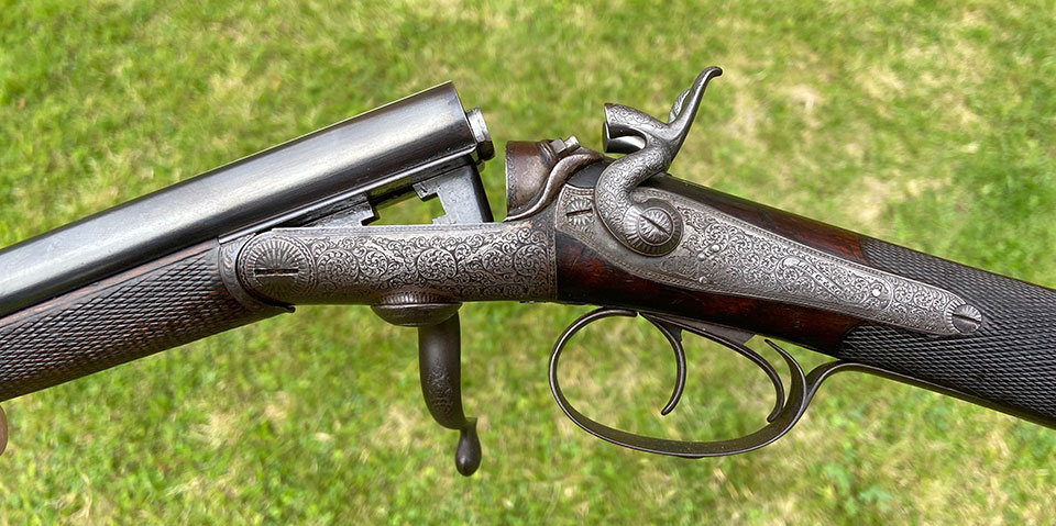The Lang & Sons arrived in good condition and is obviously a quality gun but the bore size was a non-starter.