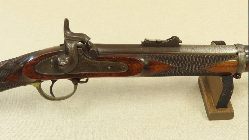 Reilly 11716 was aprize given to teh winner of a yeomanary shooting competition in 1860.