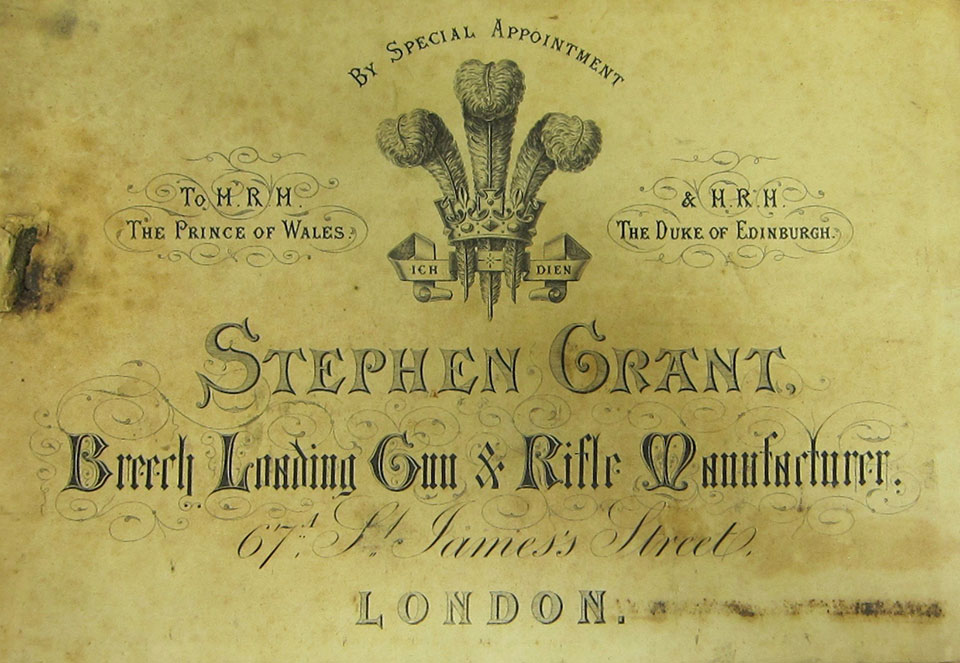 Stephen Grant traded under his name alone from 1867 until 1889.