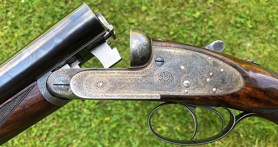 Purdey (Beesley patent) spring-cocker.