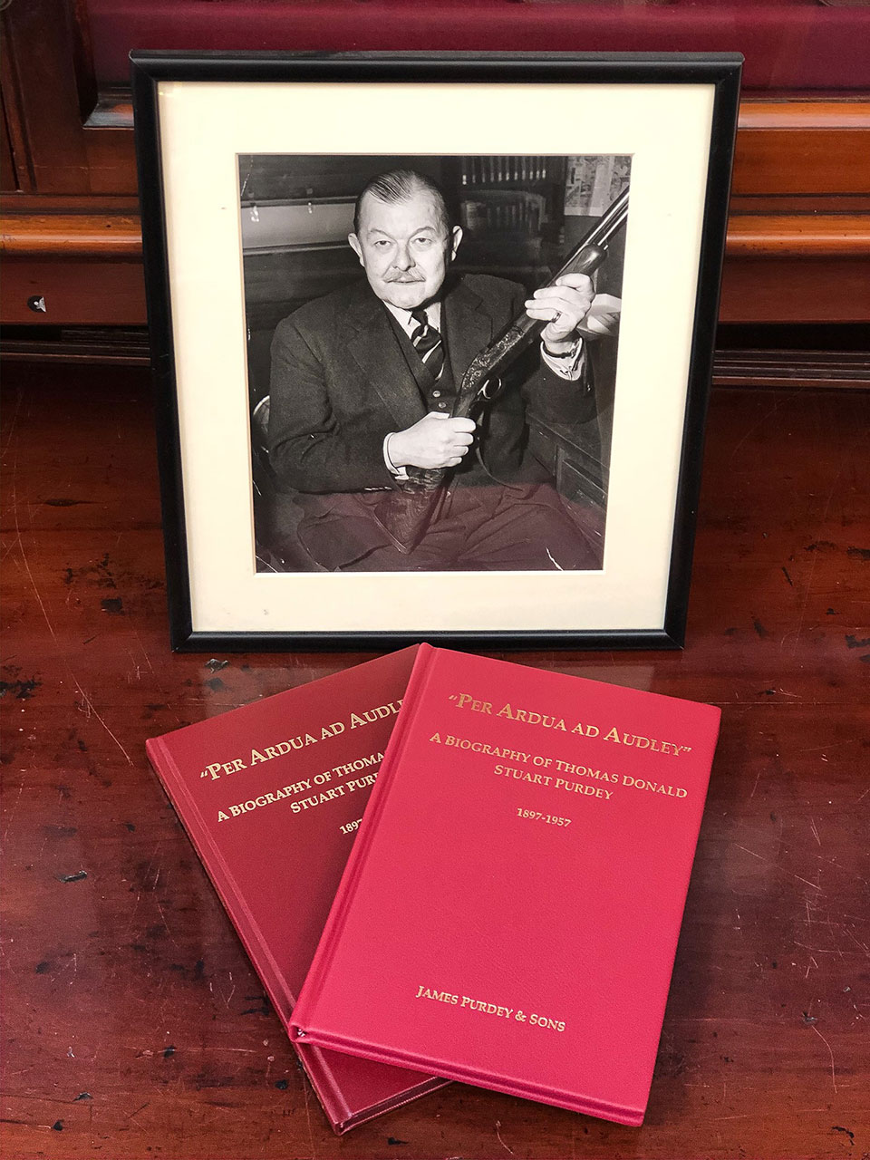 Tom Purdey's life has been thoroughly researched and celebrated in Nick Harlow's new book.
