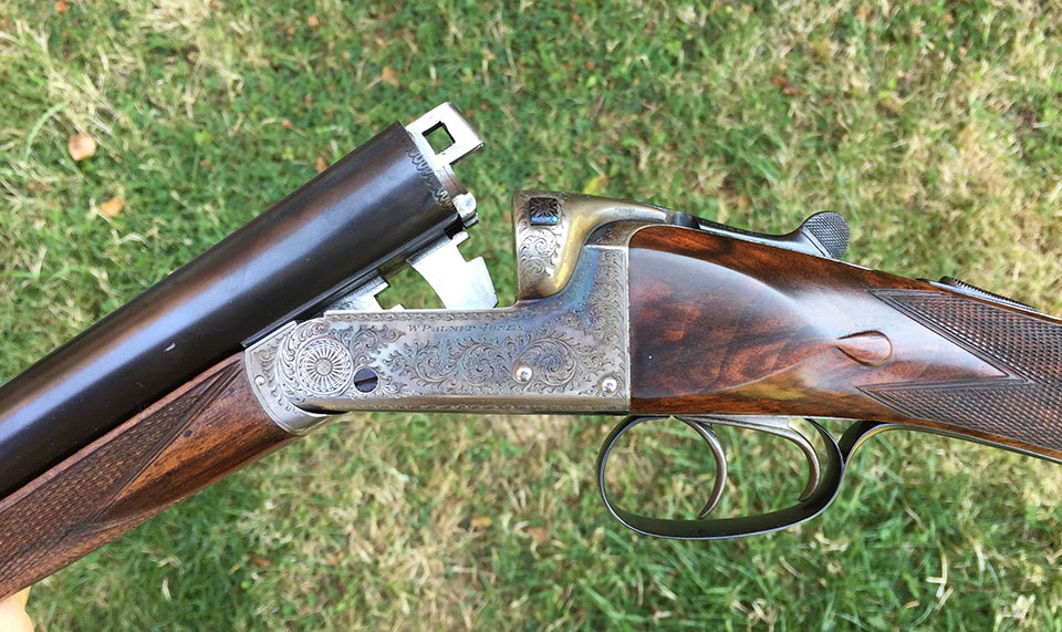 A good boxlock ejector is a solid starting point. Guns like this can be had for £1,000 - £2,000. Aim for guns with as much original finish and as little wear as you can afford.