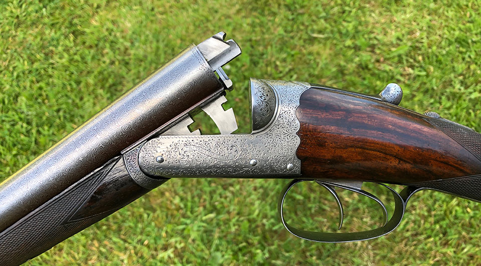 An elegant game gun of very good quality.