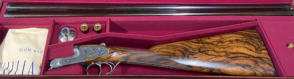 A William & Son 20-bore of recent manufacture.