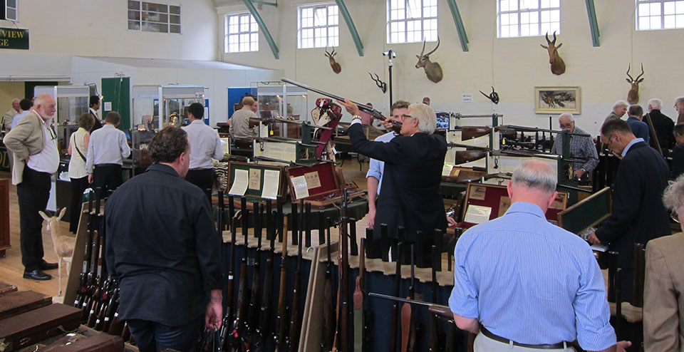 Specialist gun auctions have been very successful in galvanising a niche market that has a passionate membership.