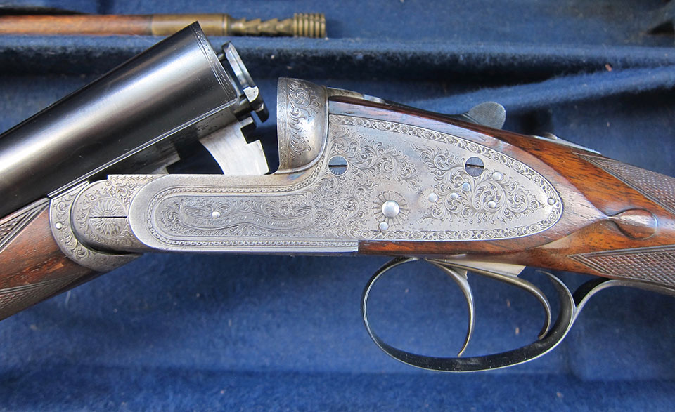 An old sidelock with thin tubes is unlikely to appreciate steel so bismuth is probably your only option.