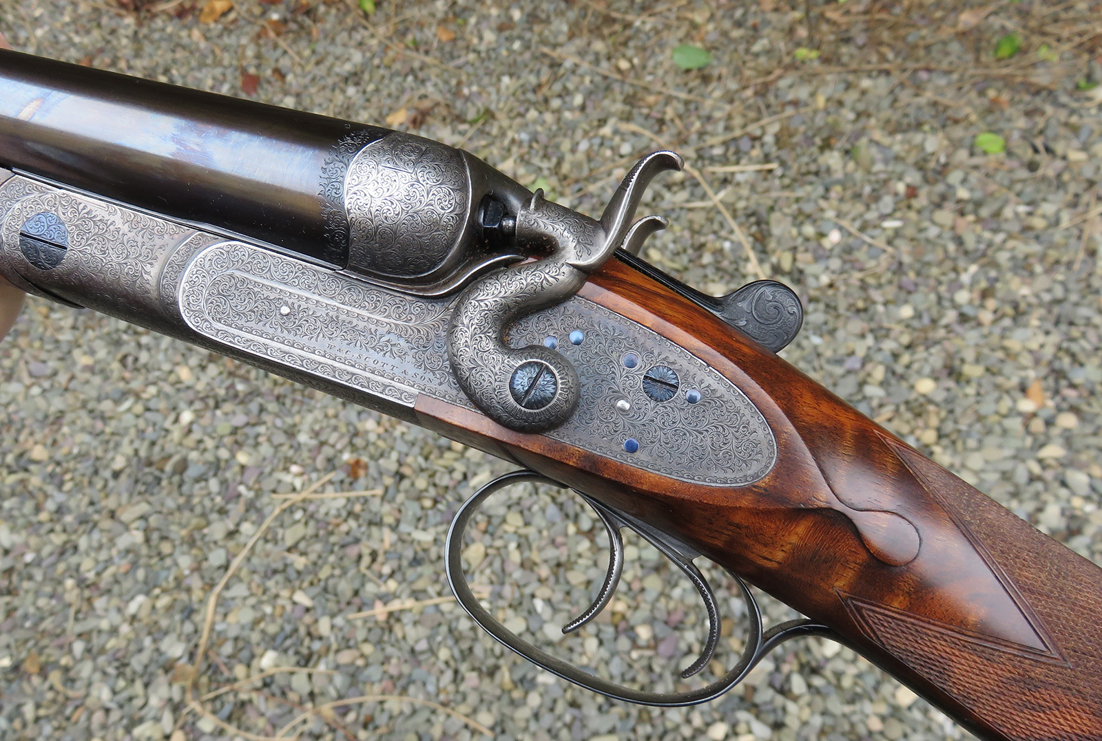 Gun customisations from vintage guns