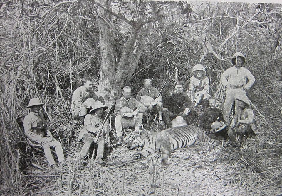 Tiger shooting was a popular sport during tha Raj but Jim Corbett was called upon when there was a man-eater that was proving too elusive for other hunters.