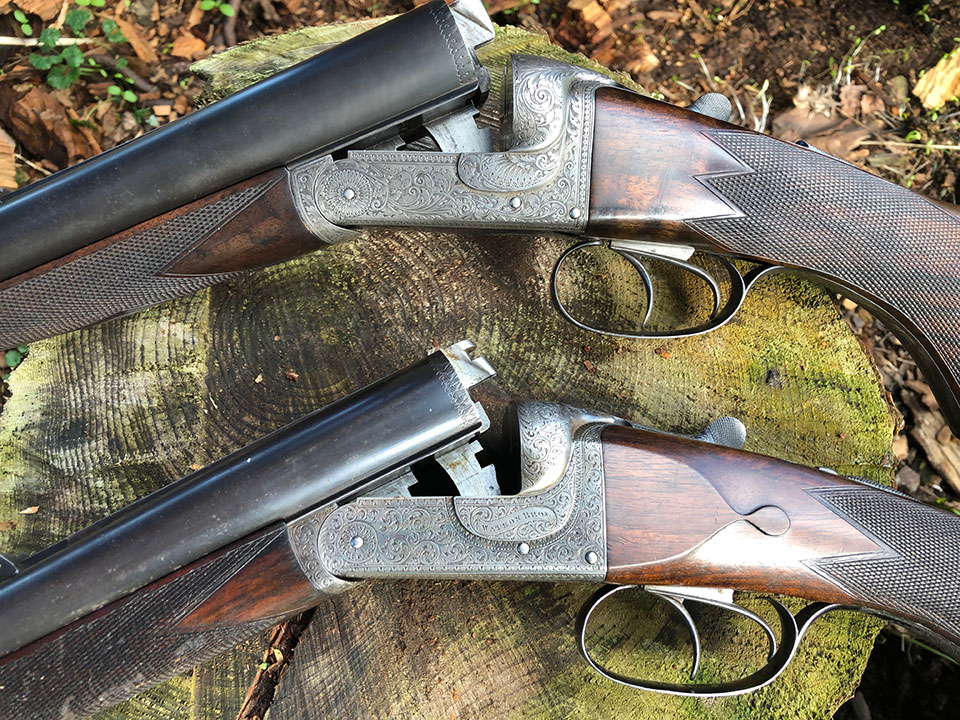 Like most rifles from the period, though made around the same time and sharing a style, each gun is very diffeent in component parts and individual details.