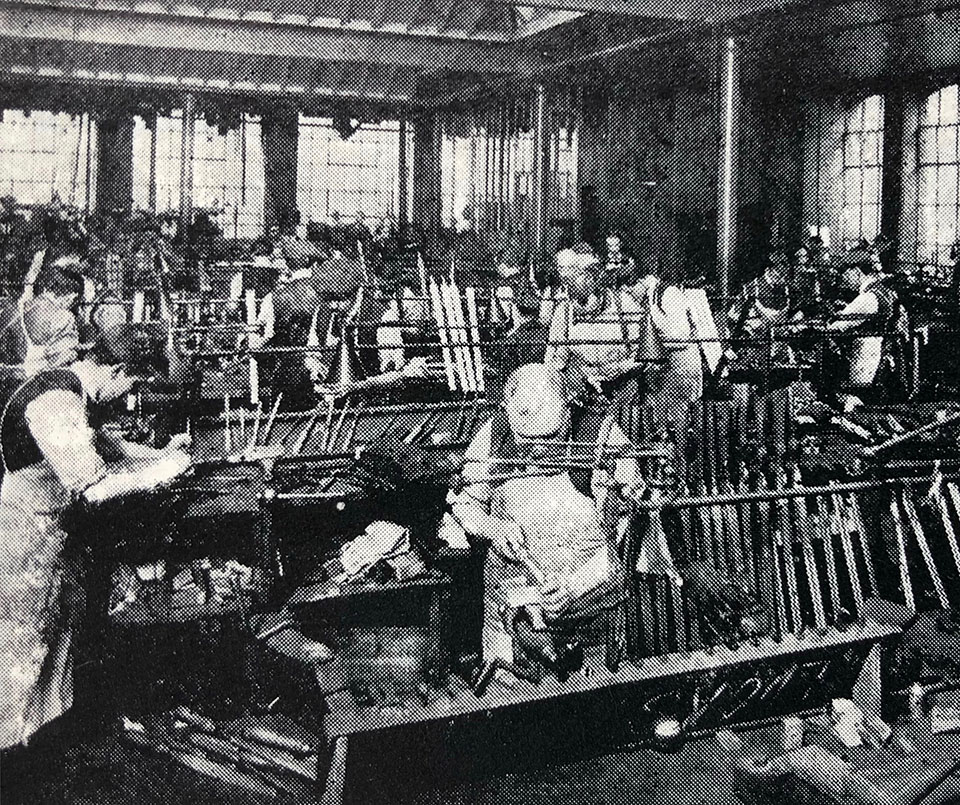 Webley gunmakers built guns for almost everyone.
